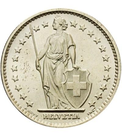 Szwajcaria 2 franki 1965