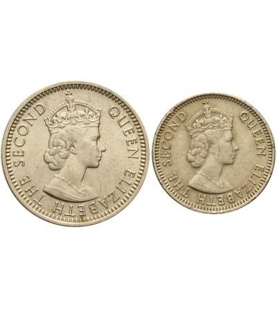 Malaje i Brytyjskie Borneo 5 i 10 centów 1957 H