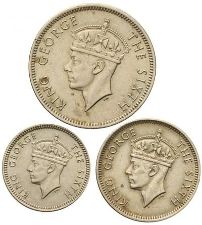 Malaje Brytyjskie 5, 10, 20 centów 1948-1950