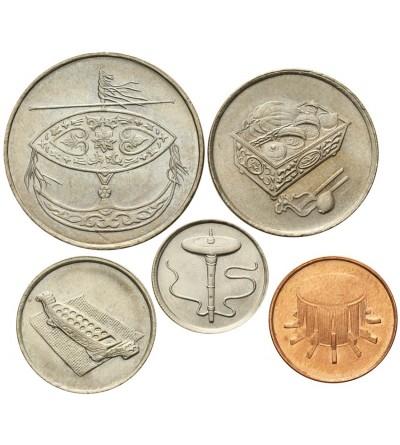 Malezja 1, 5, 10, 20, 50 sen 1992-1993