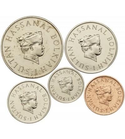 Brunei 1, 5, 10, 20, 50 sen 1970 Proof