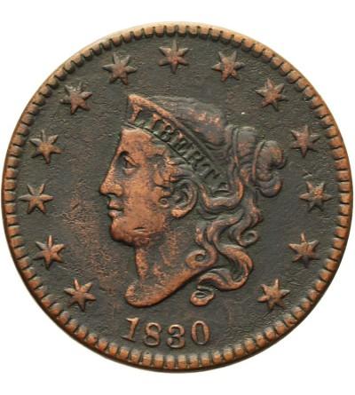 USA Coronet Cent 1830