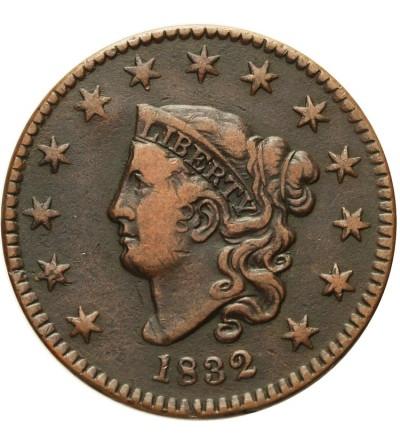USA 1 cent 1832