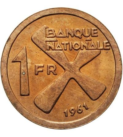 Katanga 1 frank 1961