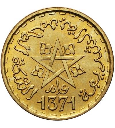 Morocco 20 Francs 1371 AH / 1951 AD