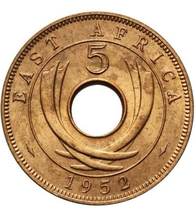 Afryka Wschodnia 5 centów 1952