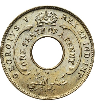 British West Africa 1/10 Penny 1912 H
