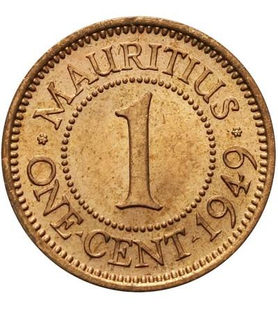 Mauritias 1 cent 1949