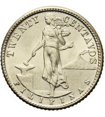 Filipiny 20 centavos 1944 D