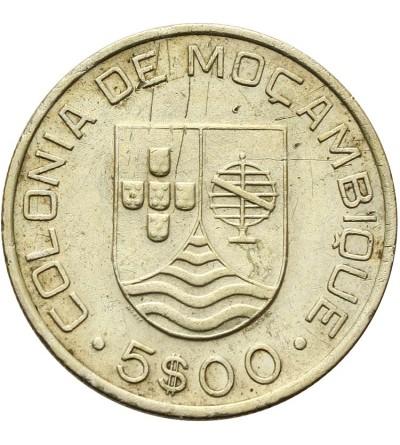Mozambique 5 Escudos 1935