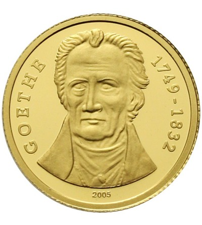 Togo 1500 franków 2005, Goethe