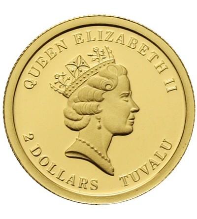 Tuvalu 2 dolary 2010