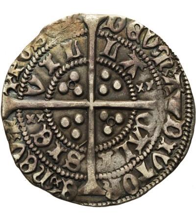 Anglia. Grosz bez daty Henryk VI 1422-1461
