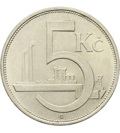 Czechosłowacja 5 koron 1929