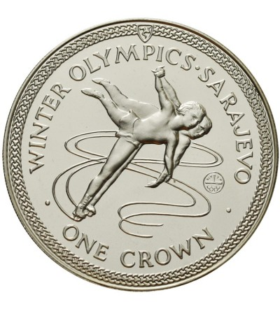 Wyspa Man 1 korona 1984, zimowe Igrzyska Sarajewo