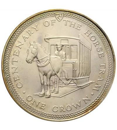 Isle of Man Crown 1976