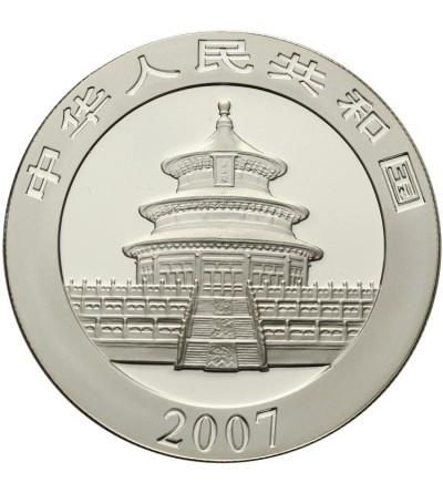 Chiny 10 yuanów 2007, Panda