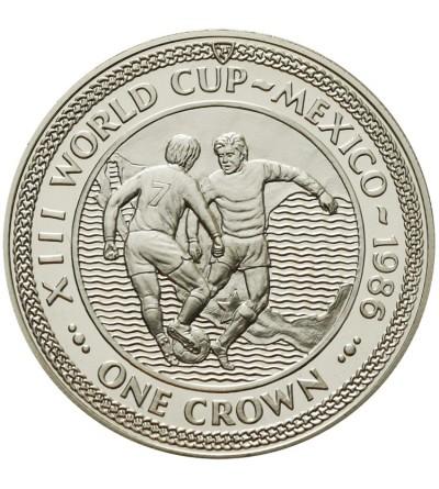 Wyspa Man 1 korona 1986, Meksyk 1986