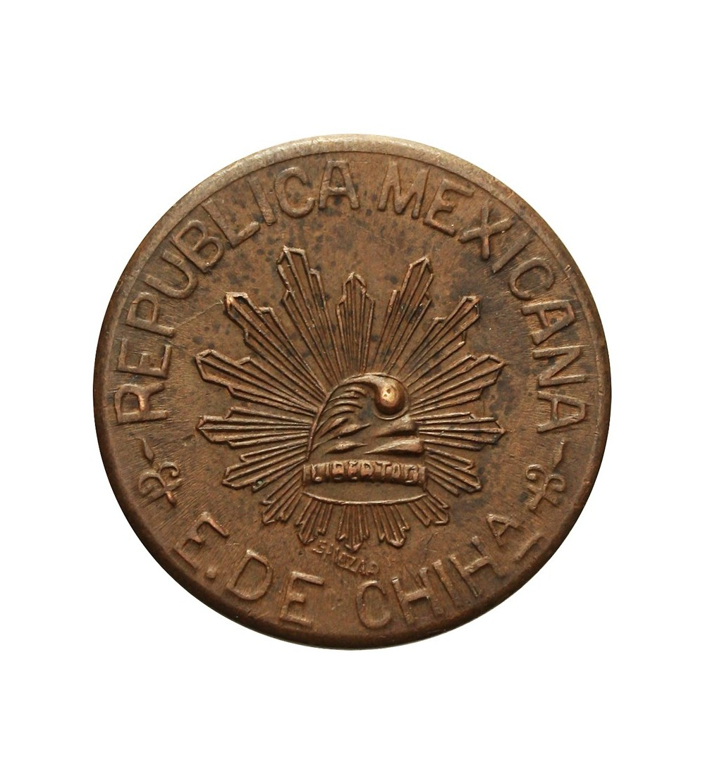 Meksyk Chihuahua 5 centavos 1915