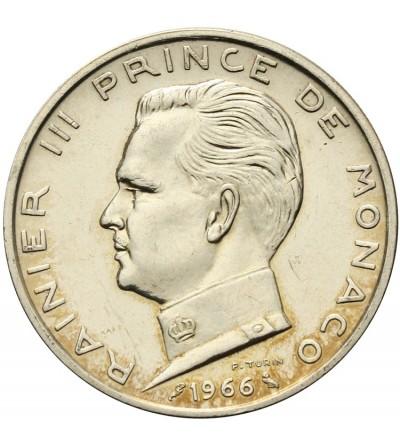 Monaco 5 Francs 1966