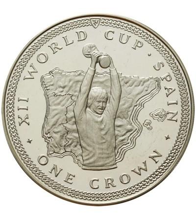 Wyspa Man 1 korona 1982