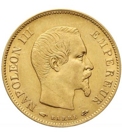 Francja 10 franków 1858 A