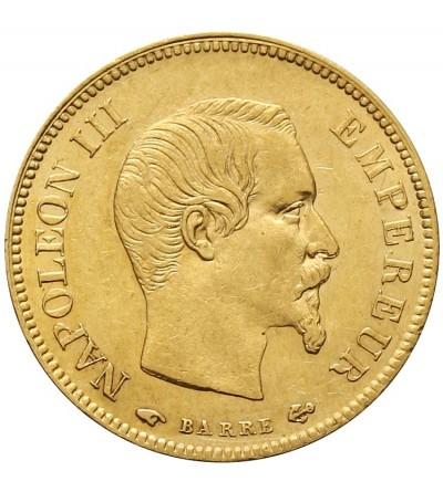 Francja 10 franków 1857 A