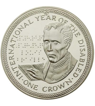 Wyspa Man 1 korona 1981