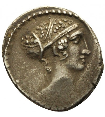 The Roman Republic. AR Denarius. T. Carisius 46 BC