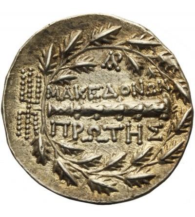 Macedonia. AR Tetradrachma ok. 168 / 158 -149 p.n.e. panowanie rzymskie