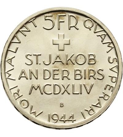 Szwajcaria 5 franków 1944 B