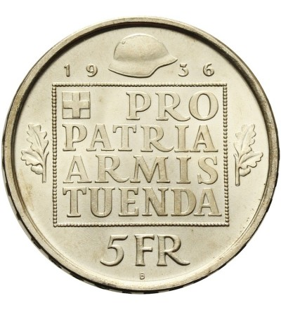 Szwajcaria 5 franków 1936 B