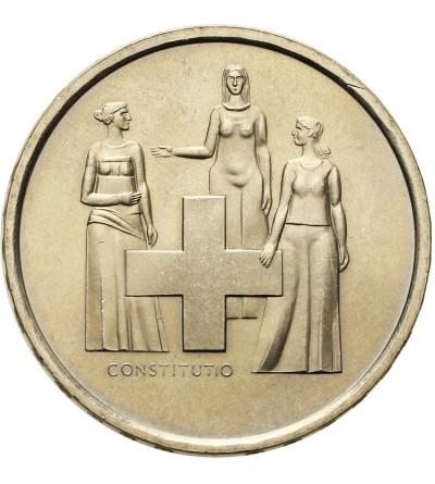 Switzerland 5 Francs 1974