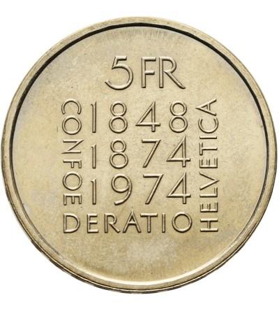 Szwajcaria 5 franków 1974