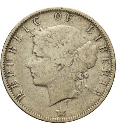 Liberia 25 centów 1906