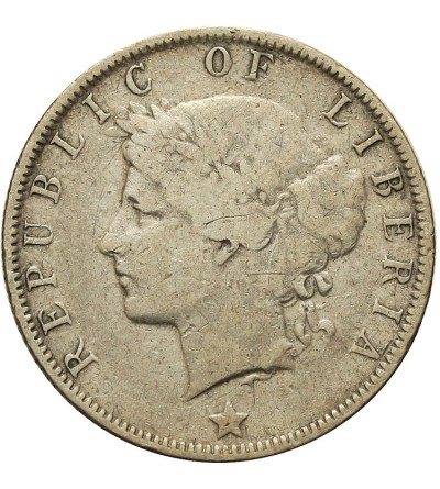 Liberia 25 Cents 1906