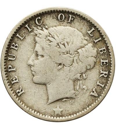 Liberia 10 centów 1896