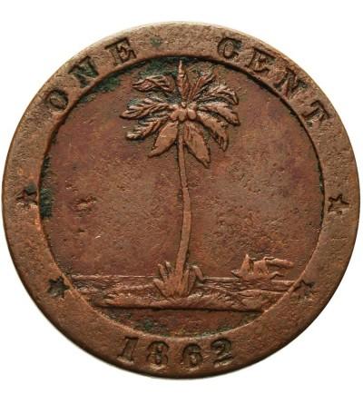 Liberia 1 cent 1862