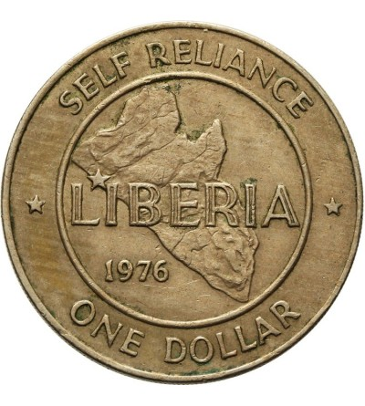 Liberia 1 dolar 1976