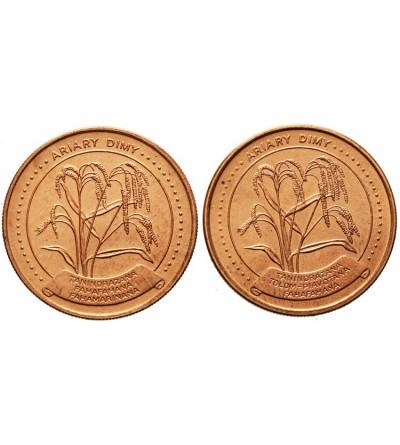 Madagaskar 5 ariary 1992, 1996