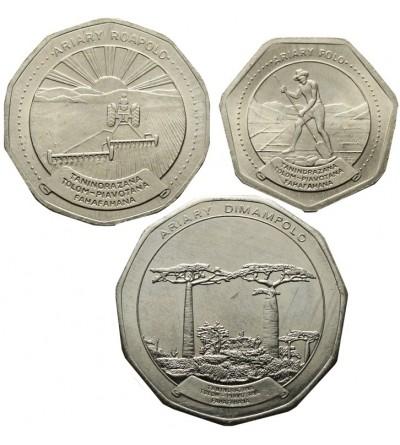 Madagaskar 10, 20, 50 ariary 1992