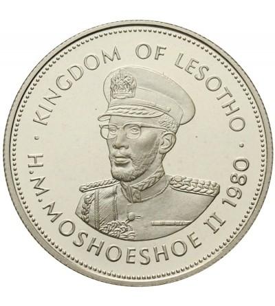 Lesotho 10 Maloti 1980 Proof