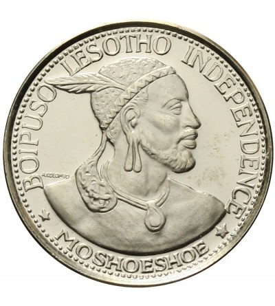 Lesotho 10 Licente 1966 Proof