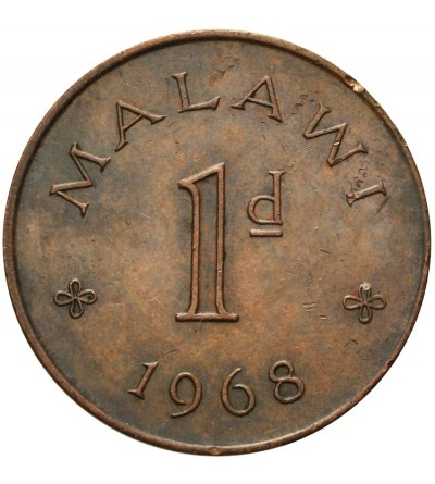 Malawi Penny 1968