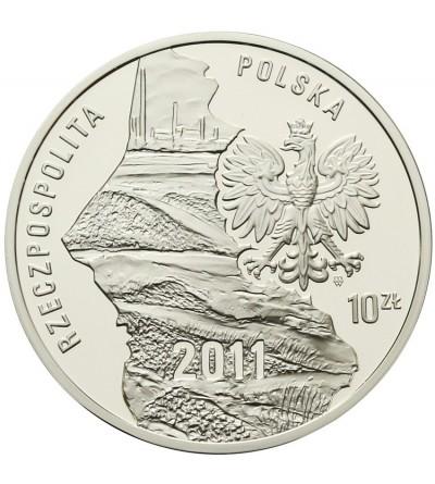 Poland 10 zlotych 2011, Silesian Upraising