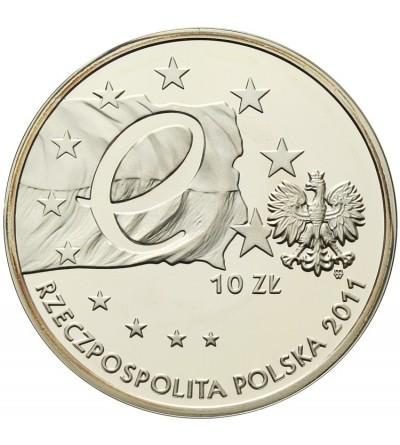 Poland 10 zlotych 2011, Poland's Presidency of the U.E.