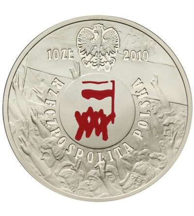Poland 10 zlotych 2010, August of 1980