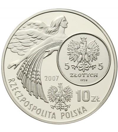 Poland 10 zlotych 2007, dzieje zlotego