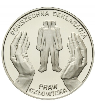 Poland 10 zlotych 1998, Univesral Declaration of Human Rights