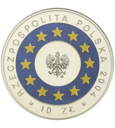 10 złotych 2004, Wstąpienie Polski do Unii Europejskiej
